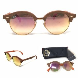 Ray-Ban RB4246M Clubhouse Wood Sunglasses- Copper